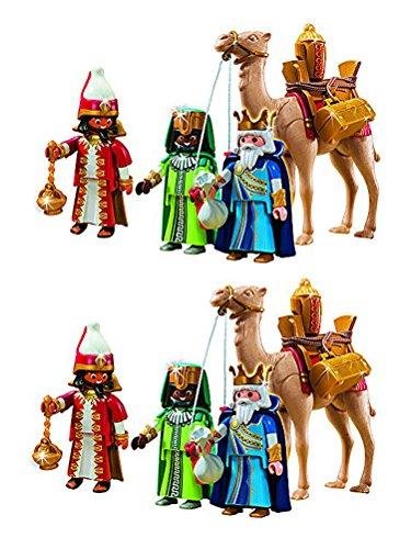 Outletdelocio. Playmobil Navidad 5589. Pack 2 Conjuntos 3 Re