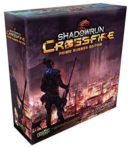 Catalyst Game Labs CAT2770X Nein Shadowrun: Crossfire Prime Deckbuilding Game, Spiel