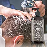 Beard Wash Shampoo w/Argan & Jojoba Oils - Softens & Strengthens - Natural Peppermint and Eucalyptus Scent - Beard… 7