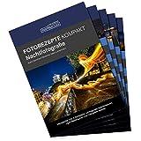 Inspiracles Nachtfotografie Fotorezepte Kompakt - 5 Foto Spickzettel zum Fotografieren Lernen für Einsteiger, DIN A 6, Wasserfest, Reissfest