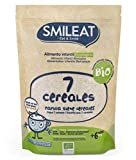 Smileat Papilla Ecológica 7 Cereales (Pack 6 Unidades) 6 x 200g