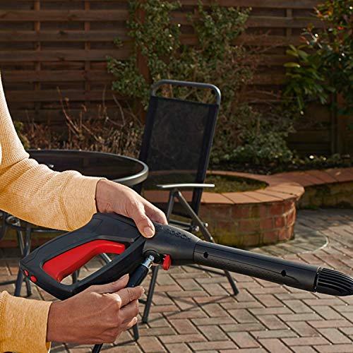 Bosch Home and Garden EasyAquatak 100 Long Lance Nettoyeur Haute Pression Bosch - ((1200 W, tuyau de 5 m, débit maximum: 300 l/h, buse à jet plat en continu, dans une boîte en carton)