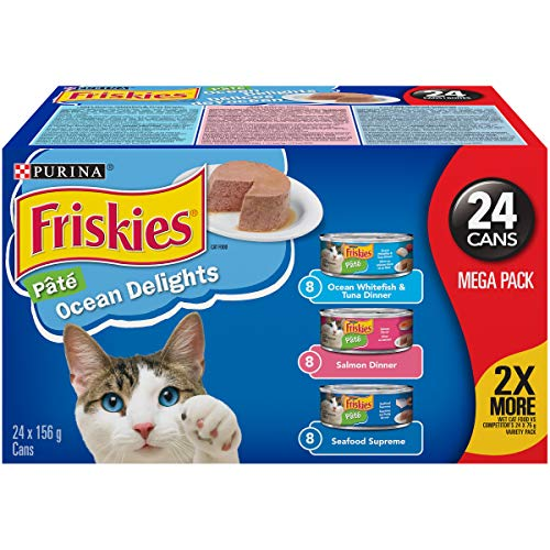 Purina® Friskies® Ocean Delights Nourriture pour chat 24 – 156 g