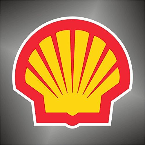 Graphic-lab Aufkleber - Sticker Shell Sport Auto Rally Formula 1 Racing Decal Sticker