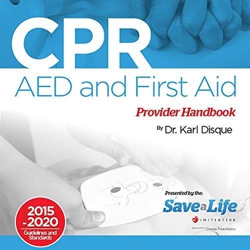 CPR, AED and First Aid Provider Handbook audiobook cover art