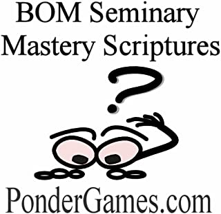 Ponder Games – Book of Mormon Seminary Mastery Scriptures