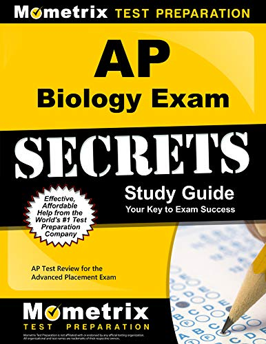 AP Biology Exam Secrets Study Guide: AP Test Review for the Advanced Placement Exam