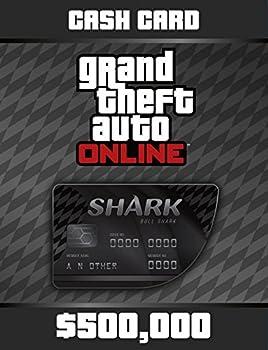 Grand Theft Auto V  Bull Shark Cash Card - PS4 [Digital Code]