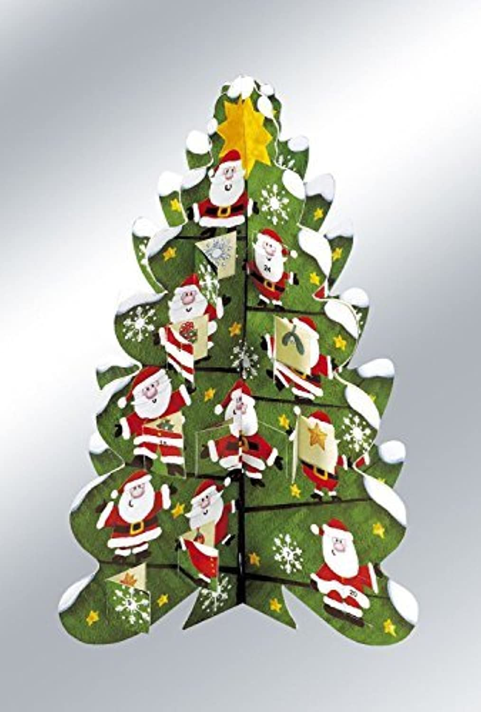 punto de venta 3D Christmas Tree Advent Advent Advent Calendar by Caltime Limited  salida para la venta