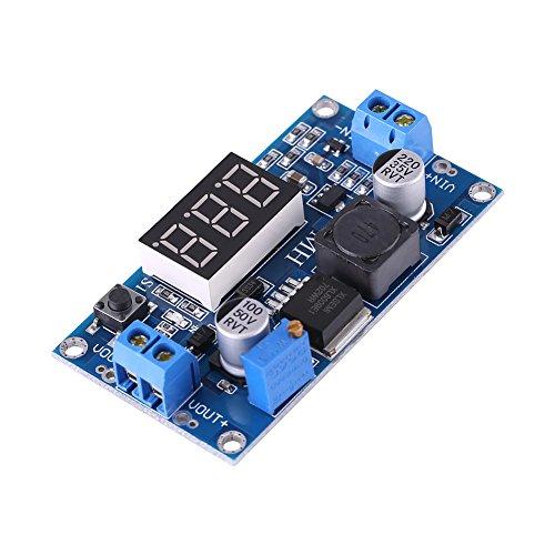 FTVOGUE DC Boost Converter 4.5V-32V a 5V-35V Ajustable DC-DC Regulador de Voltaje Regulable Control Digital Volt Boost Módulo de...