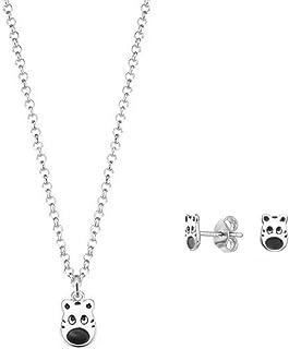 Esprit ESSE90986A340 - Parure di gioielli per bambini con collana e orecchini