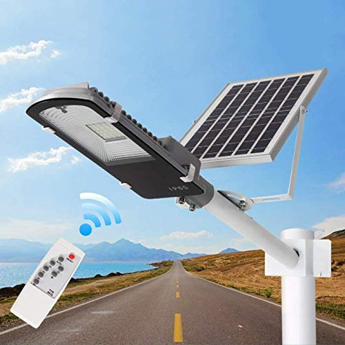 Solar Straßenlaternen Solarlaternen Outdoor Solar Flutlicht Led-leuchten Remote Solarleuchten Dämmerung Bis Morgendämmerung Sicherheitslicht LED Wasserdichte Solar-Außenbeleuchtung Für Garage,45W,30w