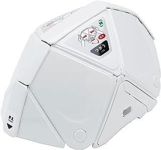 ミドリ安全 折りたたみ 防災ヘルメット TSC-10N Flatmet2 フラットメット2 国家検定合格品 ホワイト