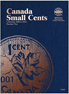 Canada Small Cents Collection 1989 to 2012, Number 2 (Whitman Official Coin Folders)