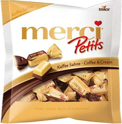 6x Merci - Petits Kaffee Sahne - 125g