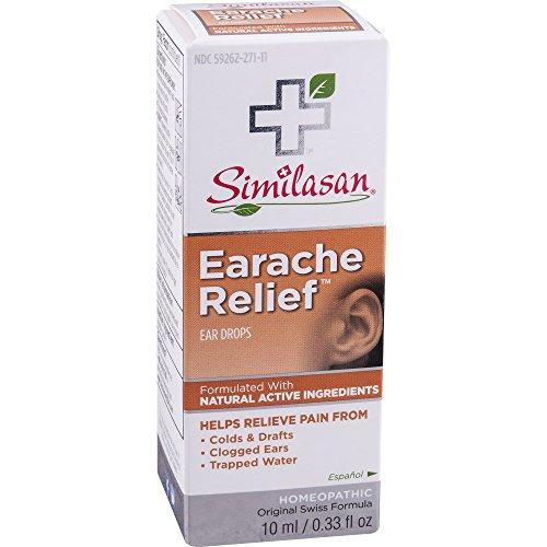 Similasan Earache Relief Ear Drops 10 mL ( 3 pack)