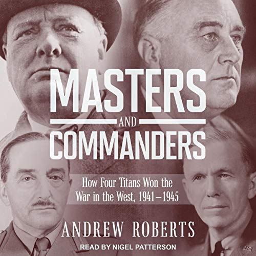 Masters and Commanders audiobook cover art