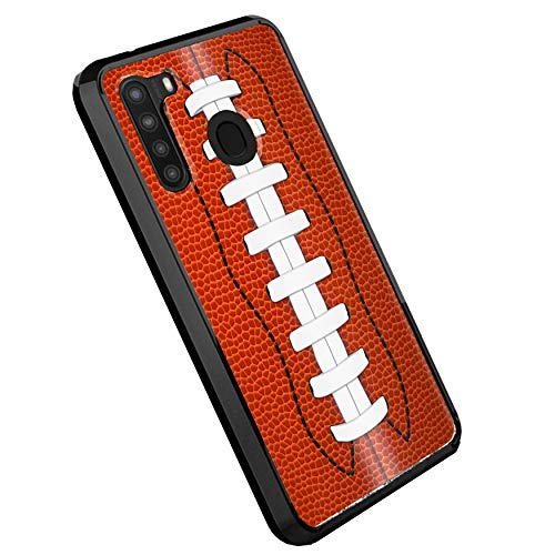 DALUX Ultra Slim PC-TPU Case Compatible with Galaxy A11 (2020) - Football Lace