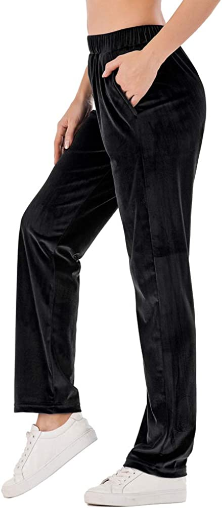 OMG_Shop Womens Jogger Pants In a popularity Velour Sweatpants Yoga 2021new shipping free shipping Active