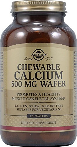 Chewable Calcium 500mg 120 Wafers 3-Pack