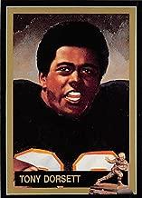 Tony Dorsett Football Card (Pittsburgh Panthers, Heisman Trophy 1976) 1991 DAC of NY #42