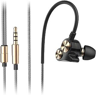 EAHKGmh Headphones Subwoofer Headphones In-ear Headphones Computer Universal Boy And Girl Compatible Laptop (Color : Black...