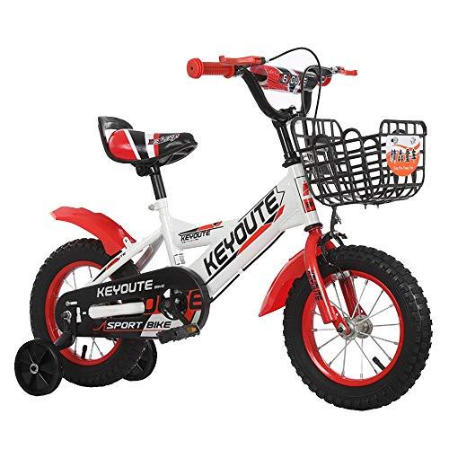 FUFU Bicicletas Niños 12/14/16/18 Pulgadas Niños Y Niñas Ciclismo, Apto For Niños De 2-13 Años D