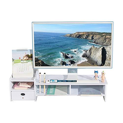 Hölzerne Zweistöckige Bildschirmerhöhung,Einfach Monitorständer Bildschirmständer schreibtisch anlage bildschirm verbesserung desktop-organizer für imac monitor laptop CY1076-B