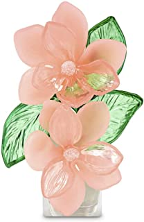 Bath And Body Works Unqiue Inspired Semi-Transparent Glass Look Flower Style Electric Wallflowers Fragrance Plug For Walls...