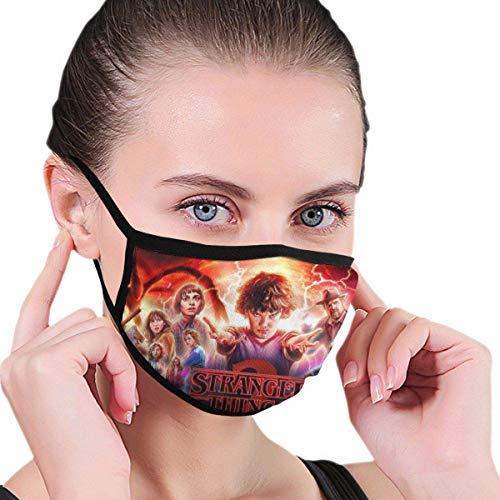 Máscara facial Stranger Tv Things impresión al aire libre lavable diadema moda reutilizable pasamontañas multifuncional cubre la cara trabajo escuela ciclismo colorido ciclismo