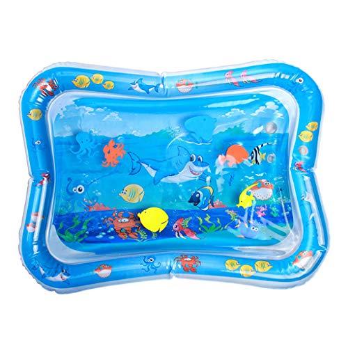 Manyao - Alfombra de agua para bebé hinchable (PVC, impermeable, para bebé), diseño de requin)