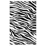 HshDUti Tapis 3D de Chambre à Coucher Antidérapante, Tapis de Plancher de Salon de Tapis de Rayure de Zèbre HT-09