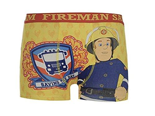 Feuerwehrmann Sam 2 x Unterwäsche Boxershorts Trunk Boxer Shorts Fireman Jungen (5-6 Jahre)