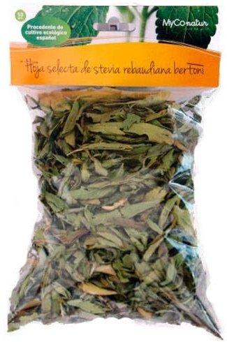 Mycofoods Stevia Hoja Selecta Bolsa 50 Gr Planta Entera Envase De 50 Gramos Mycofoods 400 g