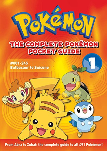 POKEMON COMPLETE POCKET GUIDE SC VOL 01