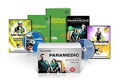 PARAMEDIC Recruitment PLATINUM Package Box Set: How to Become a Paramedic Book, Paramedic Interview Questions and Answers, Paramedic Tests, ... Fitness Test CD (How2become) (Career Kit) by How2Become