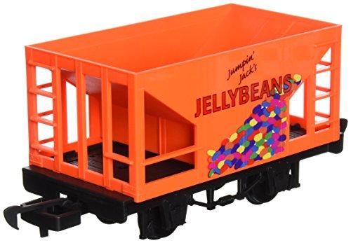 Bachmann Industries Li'l Big Haulers Jumpin' Jack's Jelly Beans G-Scale Hopper Car, Large