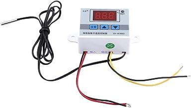 Interruptor de control de termostato digital 1pcs con sensor de sonda(AC220V)
