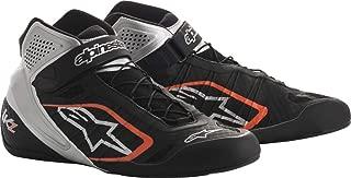 Alpinestars Tech 1-KZ Karting Shoes (Size: 9, Black/Silver/Orange)
