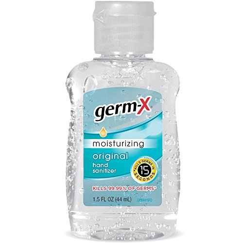 Germ-X Hand Sanitizer, Original, Travel Size, 1.5 Fluid...