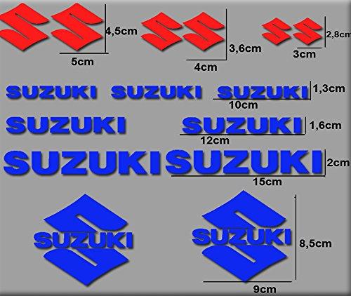 Sticker voor motorfiets, RGSX Suzuki R169