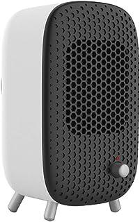 Zzq- Mini Calefactor De Aire Caliente(500W) Calentador De Cerámica Ahorro Energía PTC Elemento De Cerámica Protección del Sobrecalentamiento para Habitación, Oficina, Baño