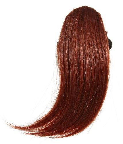 Love Hair Extensions - LHE/FRK1/QFC/CISF/35 - Thermofibre™ - Clip-In Frange Latérale - Couleur 35 - Cuivre Profond