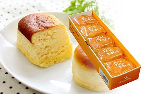 父の日 チーズケーキ とろける チーズ ケーキ 5個入 フランス産 スイーツ 5個入 ギフト プレゼント