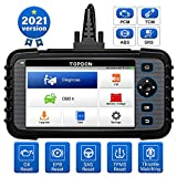 TOPDON ArtiDiag600 OBD2 Scanner Outil de Diagnostic pour Moteur Transmission ABS SRS Lecteur de Code...