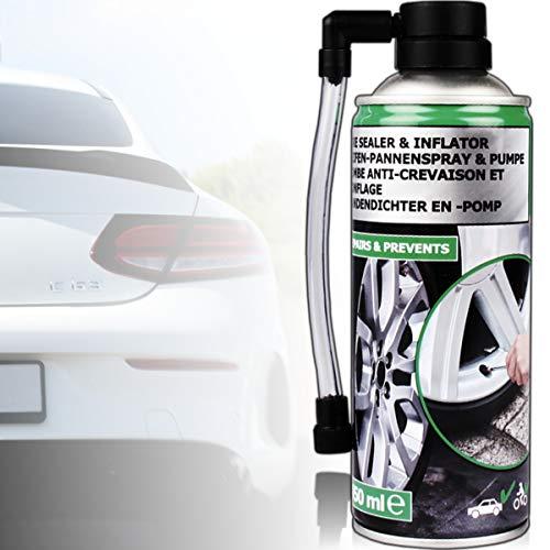 Stimo Reifen - Pannenspray 450ml für Auto und Motorrad Reifen - Dichtmittel sofortige Pannenhilfe Reifendichtspray