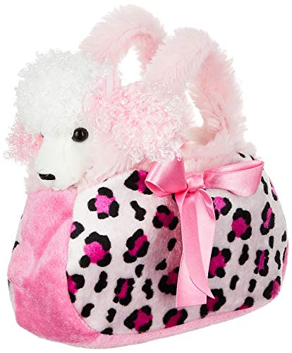 Aurora Fancy Pal Pretty Poodle Pink Pet Purse