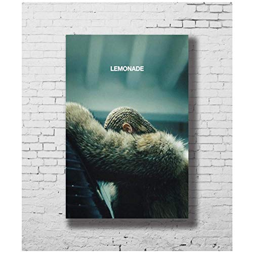 IDOLN1 Beyonce Lemonade Visual Album Posters Canvas Painting Wall Art Prints for Home Wall Decor -20x28 Inch No Frame 1 PCS
