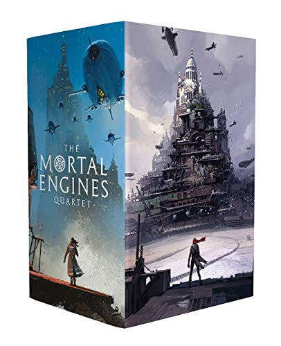 Reeve, P: Mortal Engines (Ian McQue boxset x4) (Mortal Engines Quartet)