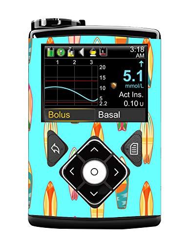 Compatible con Medtronic 640G. Hecho de vinilo duradero. Resistente al agua.